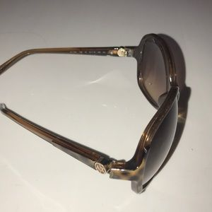 | Armani Exchange A|X Brown Butterfly Sunglasses